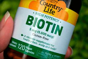 Биотин в таблетках